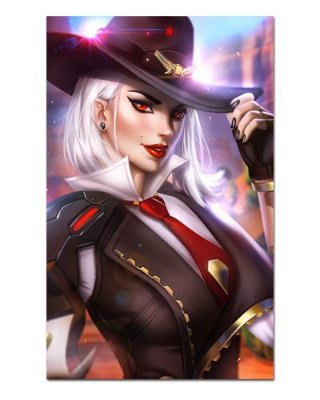 Ímã Decorativo Ashe - Overwatch - IOW28