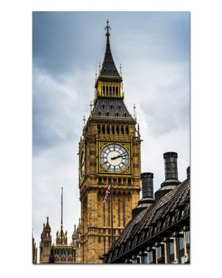 Ímã Decorativo Big Ben - Tour - IPO18