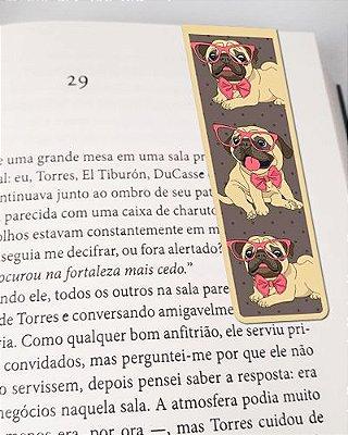 Marcador De Página Magnético Pug - Pet Dog - MDOG16