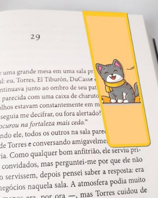 Marcador De Página Magnético Cute Cat - Pet Cat - MCAT02