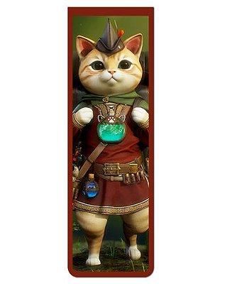 Marcador De Página Magnético Gato Aventureiro - Pet Cat - MCAT11