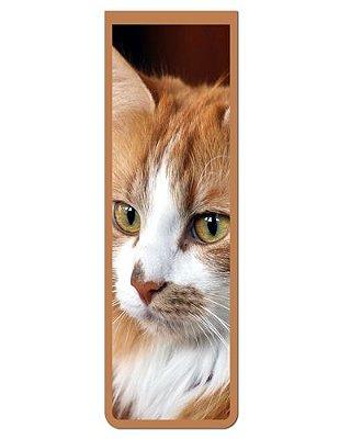 Marcador De Página Magnético Gato Siberiano - Pet Cat - MCAT14