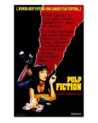 Ímã Decorativo Pôster Pulp Fiction - IPF442