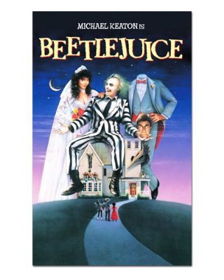 Ímã Decorativo Pôster Beetlejuice - IPF489