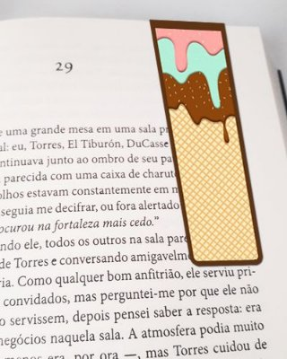Marcador De Página Magnético Ice Cream - Cute - MFE05