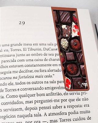 Marcador De Página Magnético Chocolate - Cute - MFE07