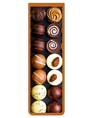 Marcador De Página Magnético Chocolate - Cute - MFE08
