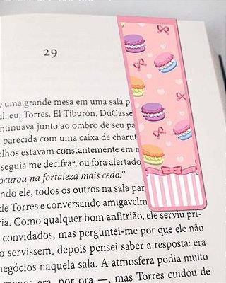 Marcador De Página Magnético Macarons - Cute - MFE19