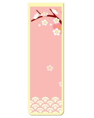 Marcador De Página Magnético Flores - Cute - MFE44