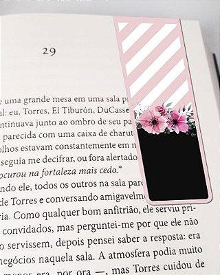 Marcador De Página Magnético Flores - Cute - MFE76