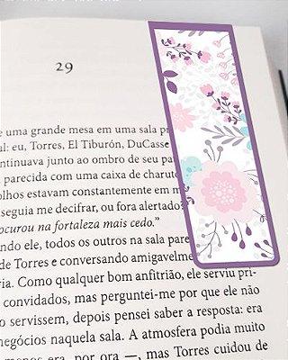 Marcador De Página Magnético Flores - Cute - MFE81