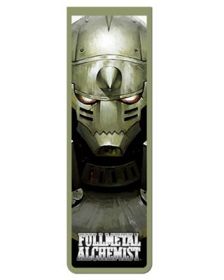 Marcador De Página Magnético Alphonse - Fullmetal Alchemist - MAN799
