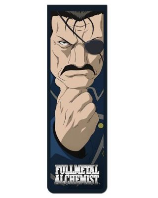 Marcador De Página Magnético Ira - Fullmetal Alchemist - MAN814