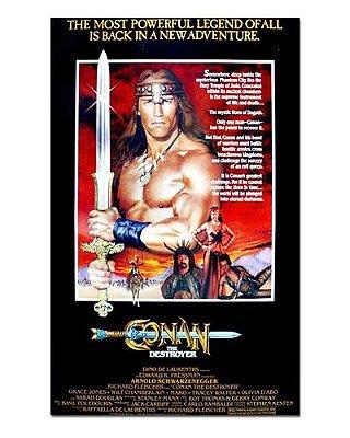 Ímã Decorativo Pôster Conan The Destroyer - IPF520