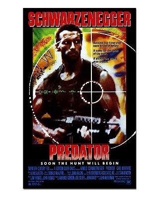 Ímã Decorativo Pôster O Predador - IPF444