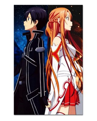 Ímã Decorativo Kirito e Asuna - Sword Art Online - ISAO03