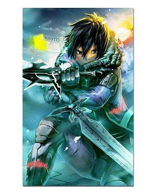 Ímã Decorativo Kirito - Sword Art Online - ISAO04