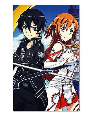 Ímã Decorativo Kirito e Asuna - Sword Art Online - ISAO10
