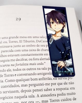 Marcador De Página Magnético Kirito - Sword Art Online - MAN831