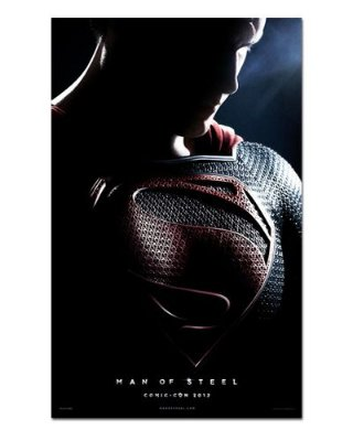 Ímã Decorativo Pôster Man of Steel - IPF262