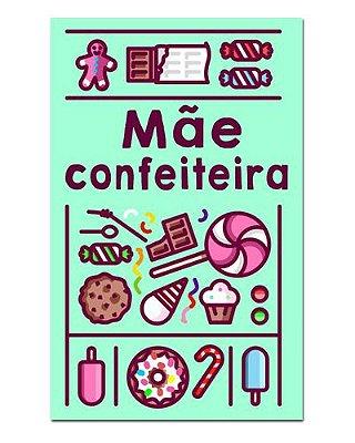 Ímã Decorativo Mãe Confeiteira - Cute - IDF09