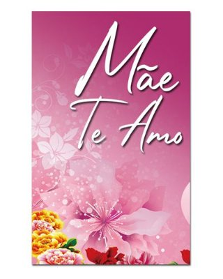 Ímã Decorativo Mãe Te Amo - Cute - IDF21