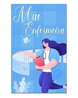 Ímã Decorativo Mãe Enfermeira - Cute - IDF24