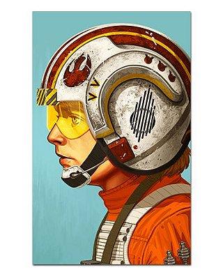Ímã Decorativo Luke Skywalker - Star Wars - ISW76