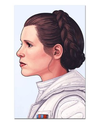 Ímã Decorativo Leia Organa - Star Wars - ISW77