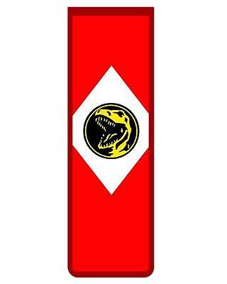 Marcador De Página Magnético Ranger Vermelho - Power Rangers - MAT01