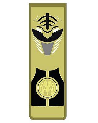 Marcador De Página Magnético Ranger Branco - Power Rangers - MAT08