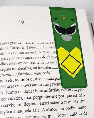Marcador De Página Magnético Ranger Verde - Power Rangers - MAT09