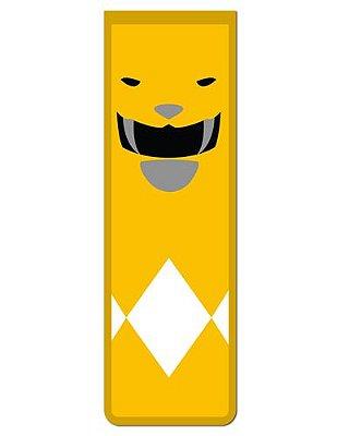Marcador De Página Magnético Ranger Amarelo - Power Rangers - MAT10