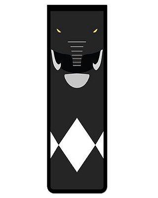 Marcador De Página Magnético Ranger Preto - Power Rangers - MAT11
