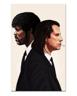 Ímã Decorativo Vincent e Jules - Pulp Fiction - IFI06