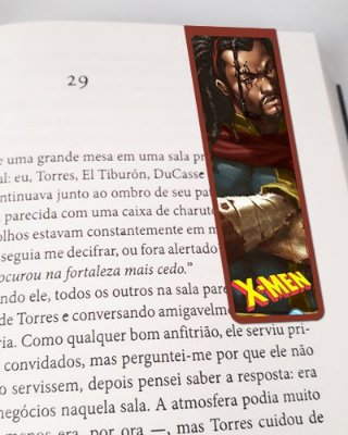 Marcador De Página Magnético Bishop - X-Men - MMA142