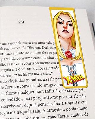 Marcador De Página Magnético Emma Frost - X-Men - MMA160