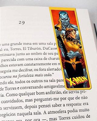Marcador De Página Magnético Colossus e Kitty - X-Men - MMA179