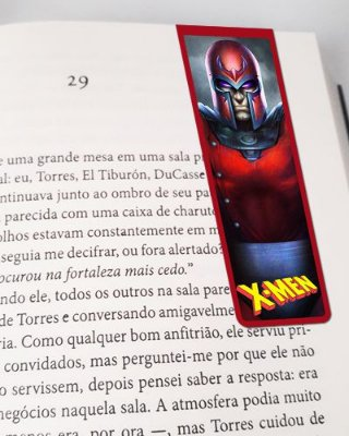 Marcador De Página Magnético Magneto - X-Men - MMA183