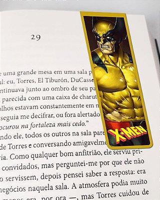 Marcador De Página Magnético Wolverine - X-Men - MMA219