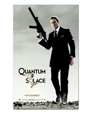 Ímã Decorativo Pôster 007 - Quantum of Solace - IPF101