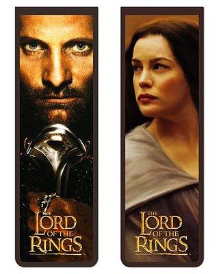 Pack Marcador Magnético - Aragorn e Arwen - Senhor dos Anéis - PKN01