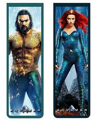Pack Marcador Magnético - Aquaman e Mera - PKN06