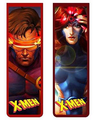 Pack Marcador Magnético - Ciclope e Phoenix - X-Men - PKN12
