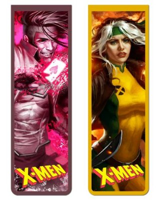Pack Marcador Magnético - Gambit e Rogue - X-Men - PKN14