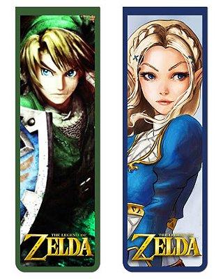 Pack Marcador Magnético - Link e Zelda - The Legend of Zelda - PKN16