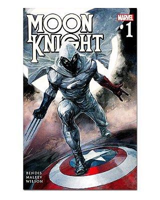 Ímã Decorativo Capa de Quadrinhos Moon Knight - CQM192