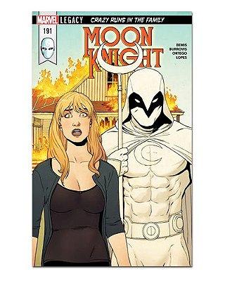 Ímã Decorativo Capa de Quadrinhos Moon Knight - CQM201