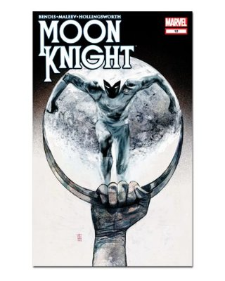 Ímã Decorativo Capa de Quadrinhos Moon Knight - CQM202