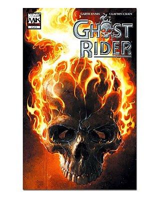 Ímã Decorativo Capa de Quadrinhos Ghost Rider - CQM218